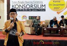 TANPA GUS IPUL: Seminar nasional di UINSA Surabaya tetap berlangsung tanpa kehadiran Wagub Jatim, Saifullah Yusuf. | Foto: Barometerjatim.com/ABDILLAH HR