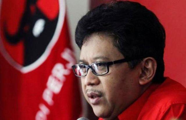 HATI-HATI KALAU BICARA: Sekjen DPP PDIP, Hasto Kristiyanto, pernyataannya yang membabi buta bisa memicu 'adu domba' kiai NU di Jatim. | Foto: Ist