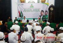 MDS RIJALUL ANSOR: Kegiatan MDS Rijalul Ansor di Masjid Baiturrahman, kompleks Mapolrestabes Surabaya. | Foto: Barometerjatim.com/ROY HASIBUAN