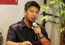 UNTUK KHOFIFAH-EMIL: Renville Antonio, SBY ke Jatim murni untuk memenangkan pasangan Khofifah-Emil, bukan untuk kepentingan Pilpres 2019. | Foto: Barometerjatim.com/ROY HASIBUAN