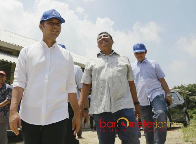 POLOWIJO GRESIK: Cawagub Jatim, Emil Dardak melakukan kunjungan ke PT Polowijo Gosari Group, Gresik, Rabu (4/4). | Foto: Barometerjatim.com/ROY HASIBUAN