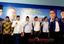 SAFARI DI JOMBANG: Cawagub Jatim, Emil Dardak melakukan safari politik bareng petinggi PAN di Jombang. | Foto: Barometerjatim.com/ROY HASIBUAN