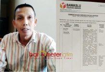 REKOMENDASI TAK JELAS: Ketua KPU Lamongan, Imam Ghozali menilai rekomendasi Panwaslu tidak jelas. | Foto: Barometerjatim.com/HAMIM ANWAR