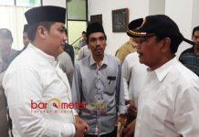 TEROR BOM BUKAN JIHAD: Helmy Faishal Zaini (kiri), teror bom di Surabaya buka cerminan Islam dan bukan jihad. | Foto: Barometerjatim.com/ABDILLAH HR