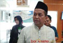 JENGUK GUS SHOLAH: Soetrisno Bachir usai menjenguk Gus Sholah di Graha Amerta RSUD dr Soetomo Surabaya, Minggu (6/5). | Foto: Barometerjatim.com/ENEF MADURY