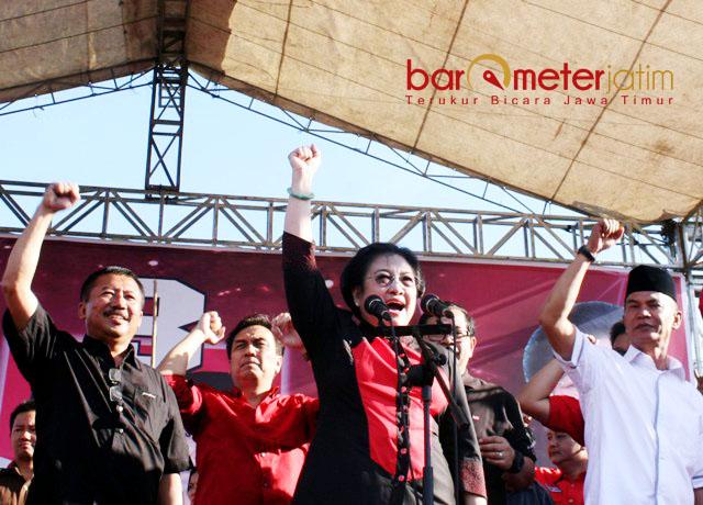 PASLON PDIP KALAH: PDIP mengusung duet kader sendiri, Bambang DH dan Said Abdullah di Pilgub Jatim 2013. | Foto: Barometerjatim.com/DOK