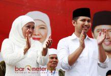 POTENSI MENANG DI 'KANDANG BANTENG': Demokrat Surabaya siap mengantarkan Khofifah-Emil Dardak meraih kemenangan di KOta Pahlawan. | Foto: Barometerjatim.com/ROY HASIBUAN