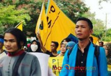 JAMPI KADER PMII TAK TUNTAS: Lutfi Kamaludin (kanan), ulah Jampi tak cerminkan kader PMII yang tuntas kaderisasi formalnya di PMII. | Foto: Ist