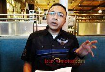 PERLINDUNGAN HUKUM: Rakhmat Santoso, minta Polda Jatim memberikan perlindungan hukum erhadap kielnnya, Gunawan Angka Widjaja. | Foto: Barometerjatim.com/ABDILLAH HR