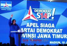 SBY Apel Siaga Kader Demokrat - Barometerjatim.com