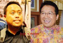 SUYOTO TINGGALKAN PAN: Agus Maimun (kiri), kepergian Suyoto ke Nasdem tak akan pengaruhi suara PAN di Pileg 2019. | Foto: Barometerjatim.com/ABDILLAH HR