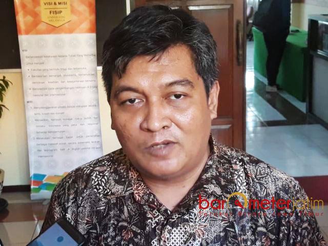 PKB HARUS KERJA KERAS: Airlangga Pribadi, PKB harus bekerja keras di Surabaya untuk mengusung Fandi Utomo di Pilwali 2020.   Foto: Barometerjatim.com/ABDILLAH HR