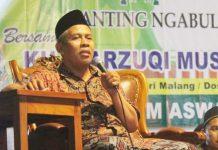 BENTENG ASWAJA: KH Marzuki Mustamar, perannya lebih dibutuhkan sebagai 'benteng Aswaja' ketimbang menjadi ketua PWNU Jatim. | Foto: IST