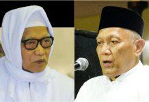 DUET PIMPIN NU JATIM: KH Anwar Manshur (kiri) dan KH Abdul Hakim Mahfudz alias Gus Kikin, duet kandidat terkuat pimpin PWNU Jatim. | Foto: IST
