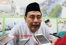 MAAFKAN GUS IPUL: KH Hasan Mutawakkil Alallah, Gus Ipul minta maaf ke kiai struktural PWNU Jatim dan sangat dimaafkan. | Foto: Barometerjatim.com/ROY HASIBUAN