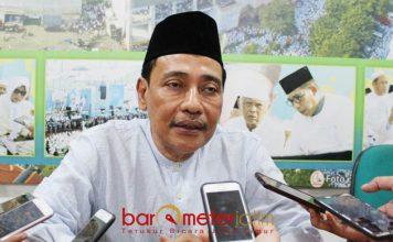 KIAI MUTAWAKKIL PUJI KHOFIFAH: KH Mutawakkil Alallah sebut Khoffah Indar Parawansa pemimpin dengan segudang pengalaman. | Foto: Barometerjatim.com/ROY HASIBUAN
