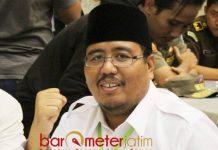 HORMAT TAPI TAK MENDUKUNG: Anwar Sadad, hormati Kiai Ma'ruf Amin tapi tak perlu didukung di Pilpres 2019. | Foto: Barometerjatim.com/ABDILLAH HR