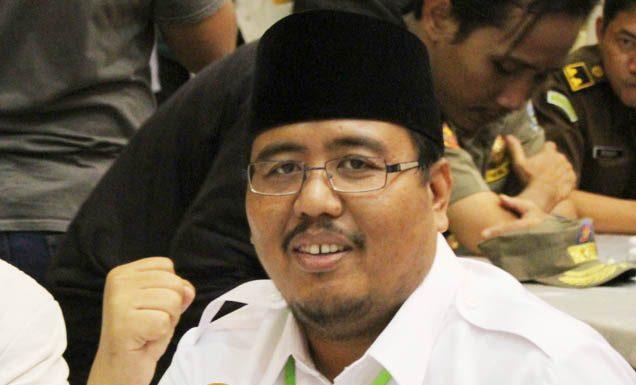 HORMAT TAPI TAK MENDUKUNG: Anwar Sadad, hormati Kiai Ma'ruf Amin tapi tak perlu didukung di Pilpres 2019.   Foto: Barometerjatim.com/ABDILLAH HR