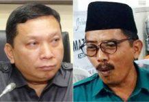 PKB PILIH REALISTIS: Musyafak Rouf (kanan), PKB butuh kerja keras untuk mengusung Fandi Utomo (kiri) di Pilwali 2020. | Foto: IST