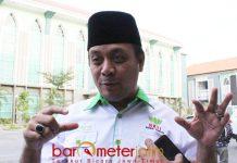 FOKUS DI BPIP: Firmansyah Ali, keluarga berharap Mahfud MD tak masuk tim pemenangan Jokowi maupun Prabowo di Pilpres 2019. | Iiustrasi: Barometerjatim.com/ROY HASIBUAN