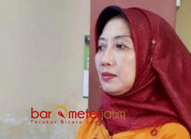 TAK MASALAH: Hartiwi Sistri Utami, tak masalah pekerjaan proyek sebelum anggaran turun. | Foto: Barometerjatim.com/HAMIM ANWAR