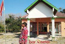 MATI SURI KARENA KORUPSI: Kantor Desa Bulumargi, roda pemerintahan mati suri karena Kades kesandung kasus korupsi. | Foto: Barometerjatim.com/HAMIM ANWAR