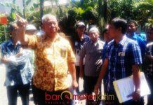 SIDANG PS: Sidang Pemeriksaan Setempat (PS) terkait perkara sewa lahan perumahan Pelindo III Cabang Tanjung Perak, Surabaya, Kamis (23/8). | Foto: Barometerjatim.com/ABDILLAH HR