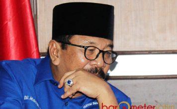 LANGKAH POLITIK SOEKARWO: Soekarwo, akankah meninggalkan Partao Demokrat dan memilih berlabih di Partai Nasdem? | Foto: Barometerjatim.com/ROY HASIBUAN