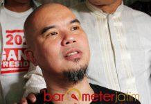 BAKAL DIPOLISIKAN: Ahmad Dhani bakal dilaporkan ke Polda Jatim terkait utang piutang. | Barometerjatim.com/ROY HASIBUAN