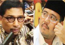 PERTARUNGAN ELITE-AKAR RUMPUT: Machfud Arifin (kiri) dan Anwar Sadad, potret pertarungan elite dan akar rumput di Pilpres 2019? | Foto: IST
