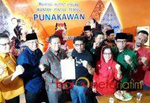 TIM KAMPANYE: TKD Jokowi-Ma'ruf wilayah Jatim mendaftarkan tim kampanye ke KPU Jatim di Surabaya, Jumat (21/9). | Foto: Barometerjatim.com/ABDILLAH HR