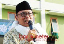 MANTAP PILIH JOKOWI: Mantan Wakil Kepala BIN, As'ad Said Ali, pilih Jokowi karena pribadi yang religius dan sederhana.   Foto: Barometerjatim.com/ROY HASIBUAN