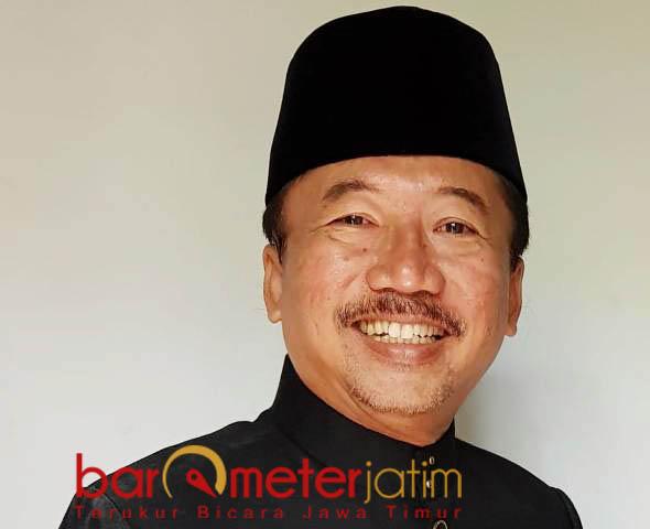 SAMBUT POSITIF: Bambang DH, sambut positif rencana pemerintah menggratiskan tarif tol Jembatan Suramadu. | Foto: Barometerjatim.com/WIRA HARLIJADI
