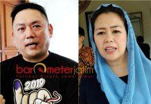 BUTUH KERJA KERAS: Giyanto Wijaya (kiri) dan Yenny Wahid, butuh kerja keras untuk memenangkan Jokowi-Ma'ruf Amin khususnya di wilayah Jawa Timur. | Foto: Barometerjatim.com/ROY HASIBUAN/IST