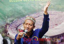 CT LAYAK KETUM PBNU: KH Agoes Ali Mashuri (Gus Ali) sebut Chairul Tanjung layak menjadi ketua umum PBNU.   Foto: Barometerjatim.com/ROY HASIBUAN