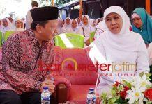 BUKAN BENTUK DUKUNGAN: Dorongan Khofifah agar Fandi Utomo maju di Pilwali Surabaya 2020 bukan bentuk dukungan. | Foto: Barometerjatim.com/DOK