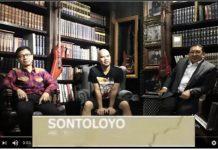 "LAGU SONTOLOYO: Alang, Ahmad Dhani dan Fadli Zon menyanyikan lagu ""Sontoloyo"" yang beredar luas di Youtube.   Foto: Capture Youtube"