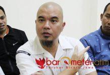 Ahmad Dhani, kasus ujaran idiot bisa batal demi hukum. | Foto: Barometerjatim.com/roy hasibuan