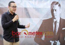 GENERASI MILENIAL: Bayu Airlangga, representasi generasi milenial yang dinilai memiliki kapasitas untuk memimpin Surabaya pasca Tri Rismaharini. | Foto: Barometerjatim.com/ROY HASIBUAN