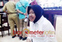 PROYEK TREM GAGAL: Tri Rismaharini, hampir sepuluh tahun jadi wali kota gagal mewujudkan proyek trem di Surabaya. | Foto: Barometerjatim.com/NATHA LINTANG
