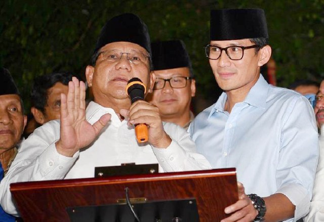 Prabowo-Sandiaga, didukung Forum Habaib, Kiai dan Masyayaikh Jatim. | Foto: Ist