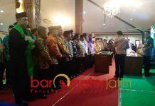 Pelantikan anggota BPD se-Kabupaten Lamongan.   Foto: Barometerjatim.com/hamim anwar