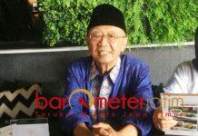 Gus Sholah tak permasalahkan warga NU pilih Prabowo. Itu hak mereka. | Foto: Barometerjatim.com/natha lintang
