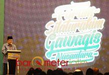 Jusuf Kalla di acara Forum Silaturahim Gawagis Nusantara.   Foto: Barometerjatim.com/marjan ap