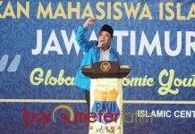 PMII tetap menjadi mitra kritis bagi Pemprov Jatim. | Foto: Barometerjatim.com/abdillah hr